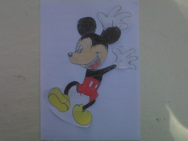 Mickey Mouse by aprendiz33